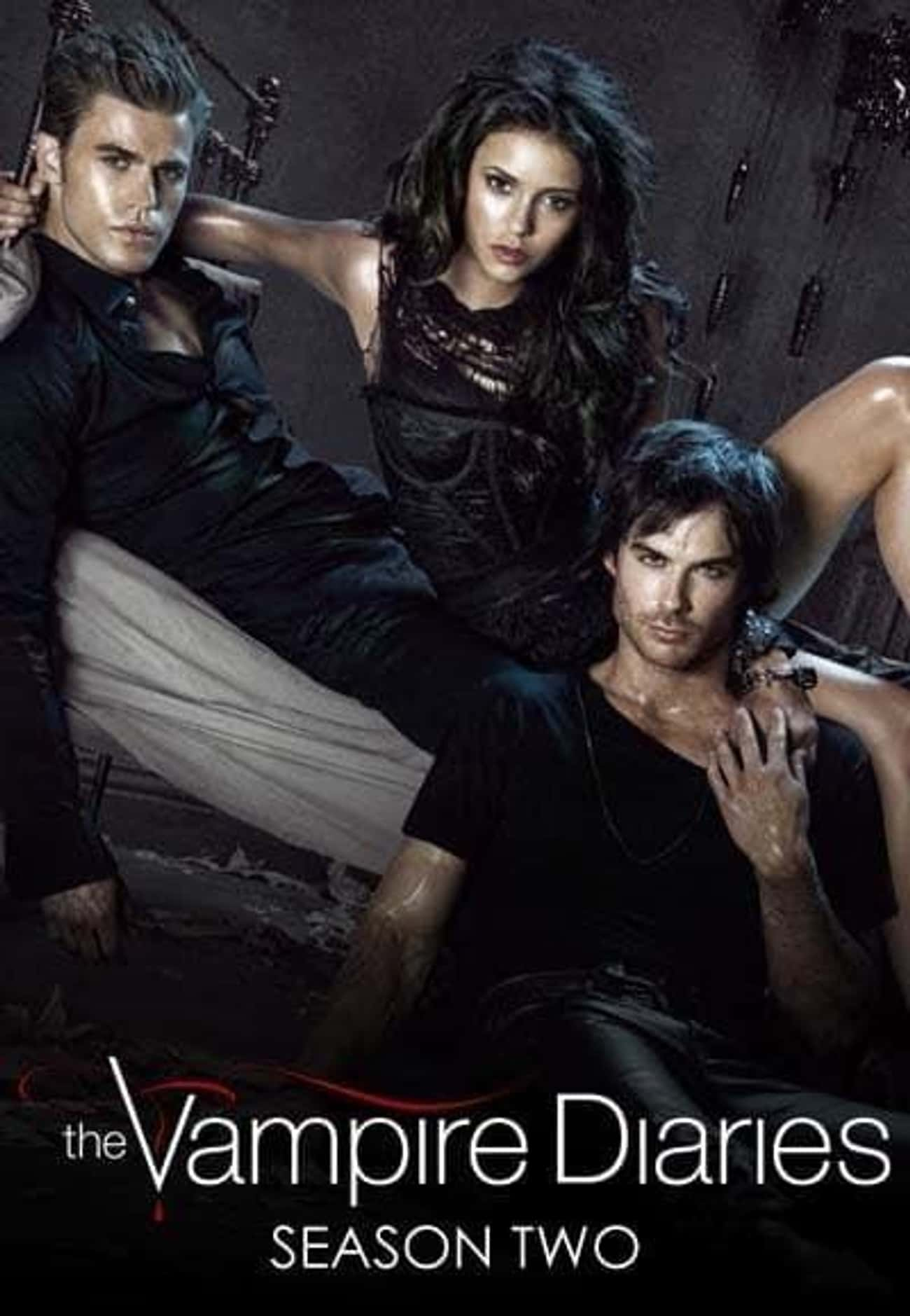 The Vampire Diaries - Season 2 is listed (or ranked) 2 on the list The Best Seasons of 'The Vampire Diaries'