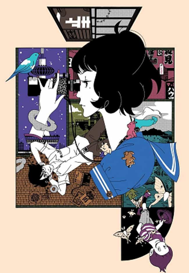 The Tatami Galaxy is listed (or ranked) 3 on the list The Most Unique Art Styles in Anime