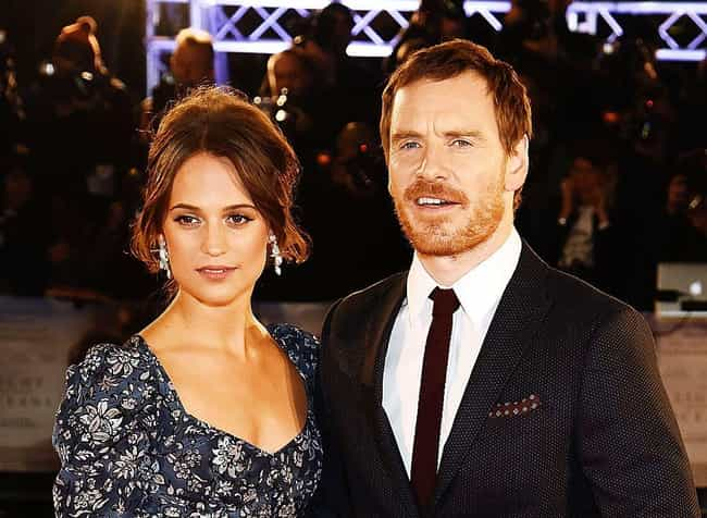 Alicia Vikander is listed (or ranked) 1 on the list Michael Fassbender Loves and Hookups