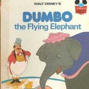 Dumbo, the Flying Elephant is listed (or ranked) 4 on the list The Best Books With Elephant in the Title