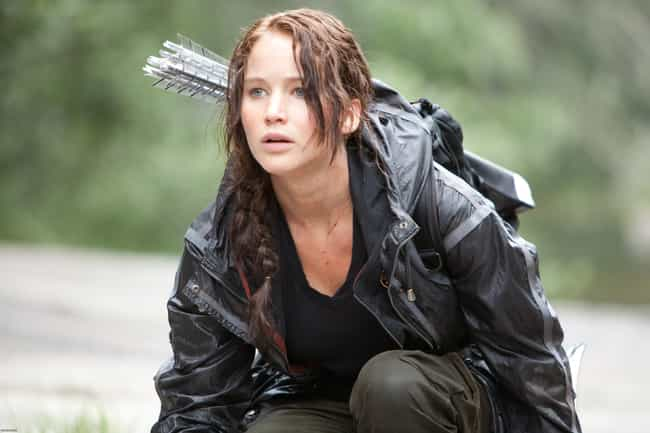 Katniss Everdeen is listed (or ranked) 2 on the list 32 Characters Who Were Whitewashed by Hollywood