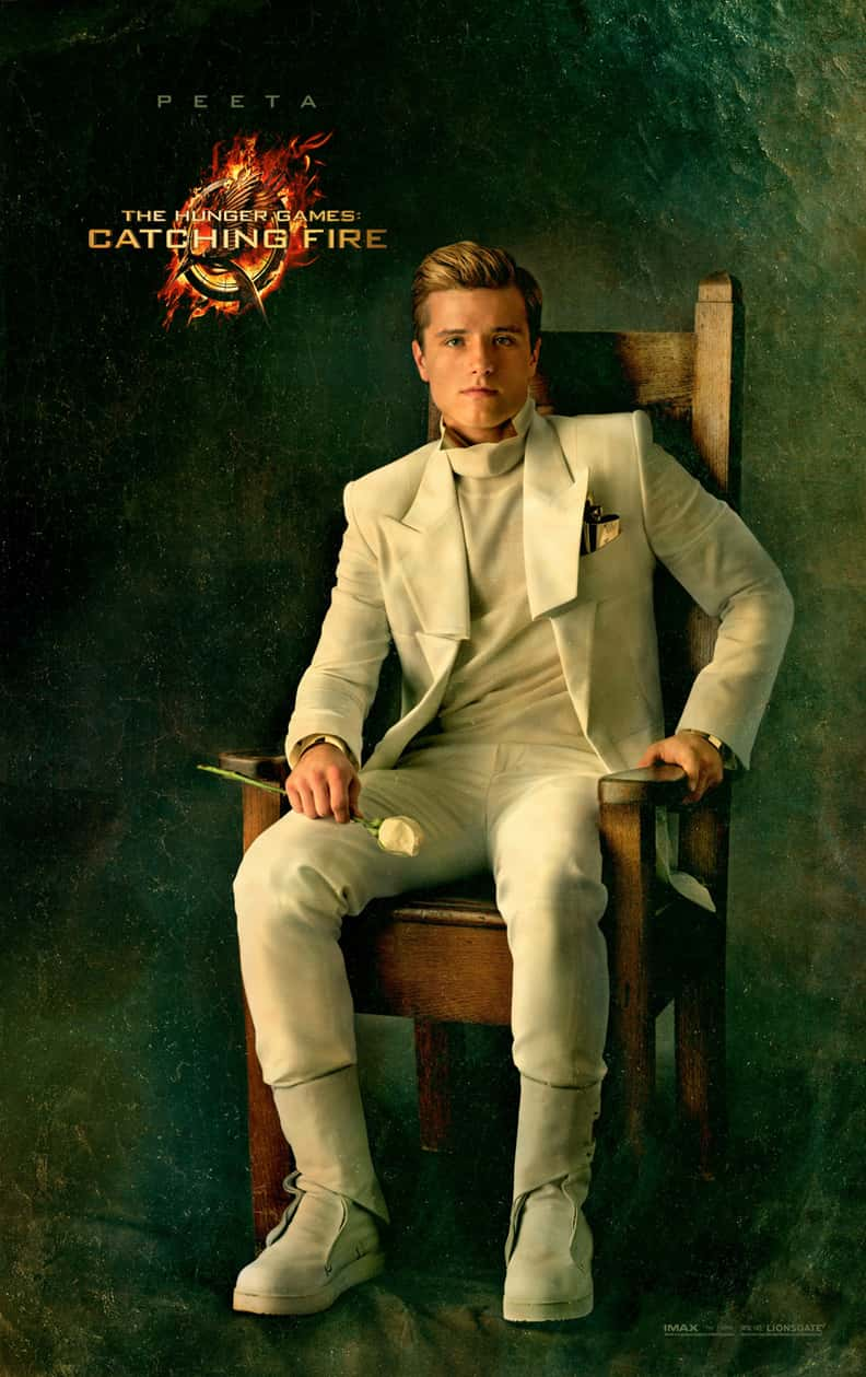 Peeta Mellark is listed (or ranked) 1 on the list What The Hunger Games SHOULD Have Looked Like In The Movies