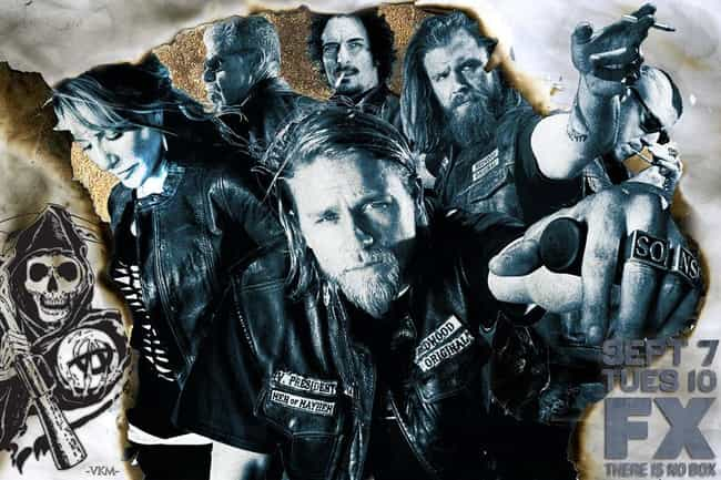 Sons of Anarchy - Season... is listed (or ranked) 4 on the list The Best Seasons of Sons Of Anarchy