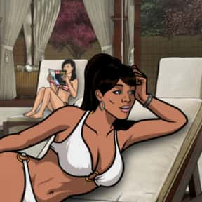 Lana Kane is listed (or ranked) 23 on the list The Most Attractive Cartoon Characters Of All Time