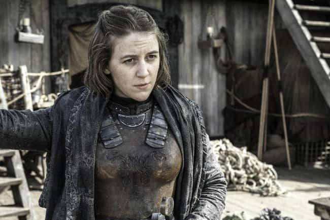 Yara Greyjoy is listed (or ranked) 1 on the list The Best Members of House Greyjoy
