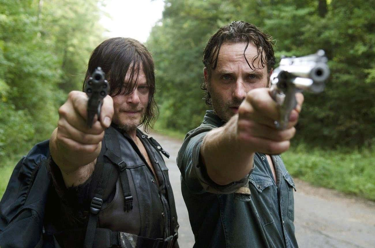 The Walking Dead is listed (or ranked) 3 on the list American TV Shows That Would Make Amazing Anime Series