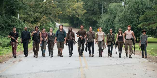 The Walking Dead is listed (or ranked) 8 on the list Current TV Shows with the Best Costumes