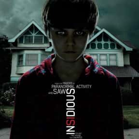 Insidious is listed (or ranked) 3 on the list The Best Demonic Possession Movies