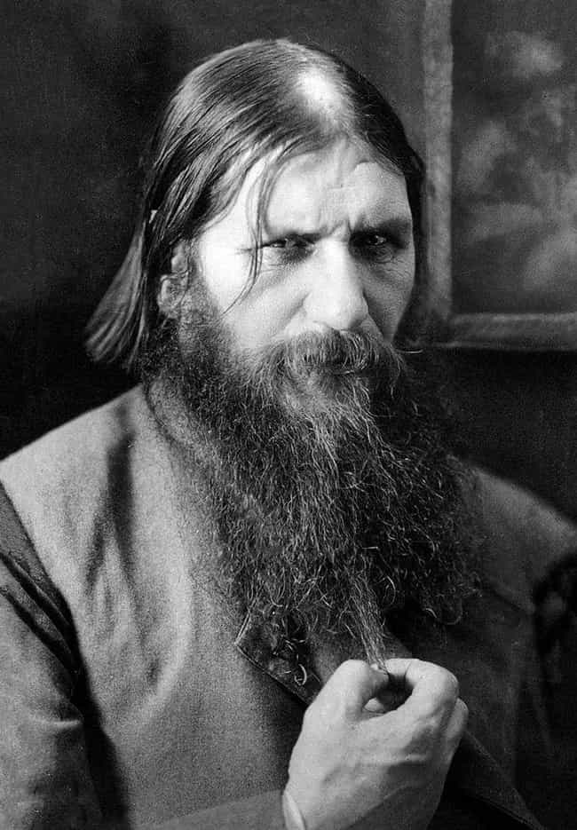 Rasputin is listed (or ranked) 1 on the list 10 Notorious Henchmen, Clairvoyants, and Magicians Who Advised Royals