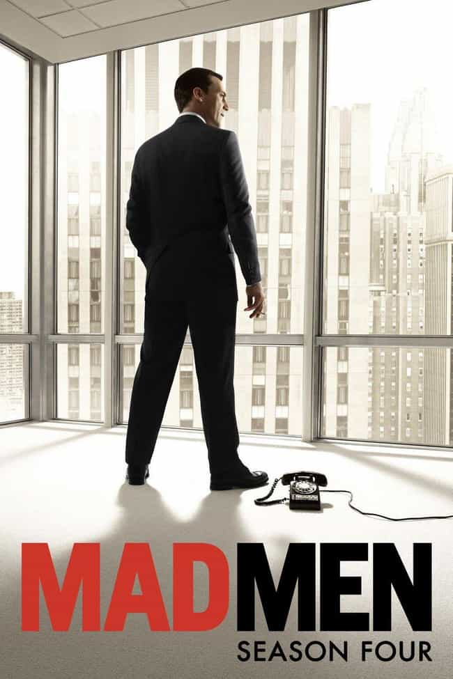 Mad Men - Season 4 is listed (or ranked) 1 on the list The Best Seasons of 'Mad Men'
