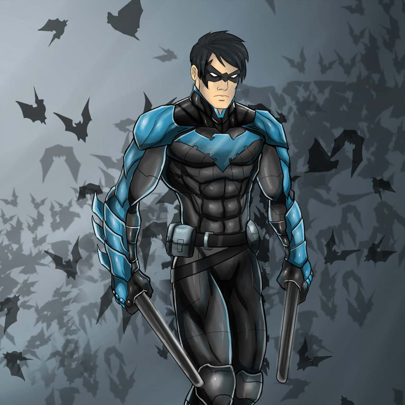 Nightwing is listed (or ranked) 2 on the list Comic Book Characters Who Deserve Their Own Video Games