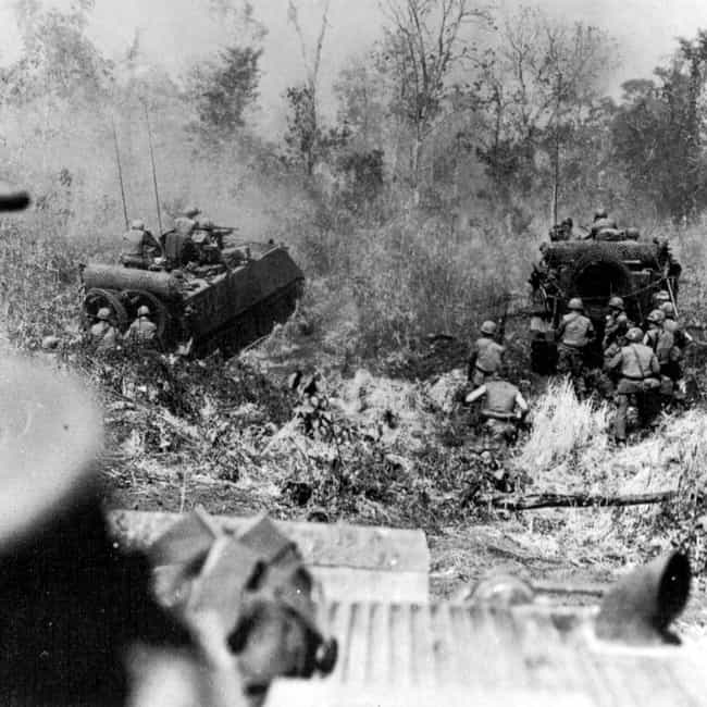 Battle of Ap Gu is listed (or ranked) 2 on the list List Of Operation Junction City Battles