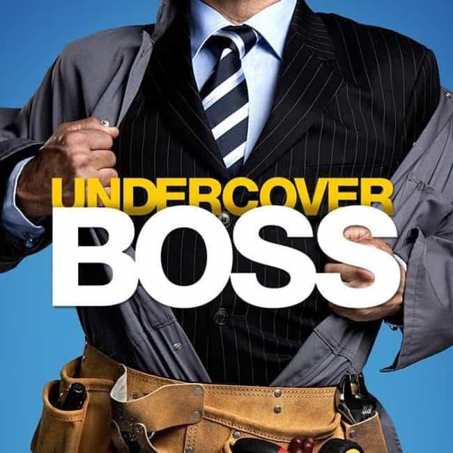 Undercover Boss is listed (or ranked) 3 on the list Turn Things Around With The Best Shows About Saving Failing Businesses