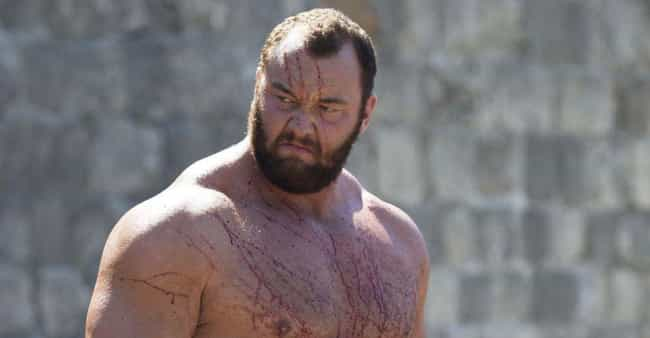 Hafþór Júlíus Björnsson is listed (or ranked) 2 on the list Crazy Diets of Wrestlers and Other Athletes