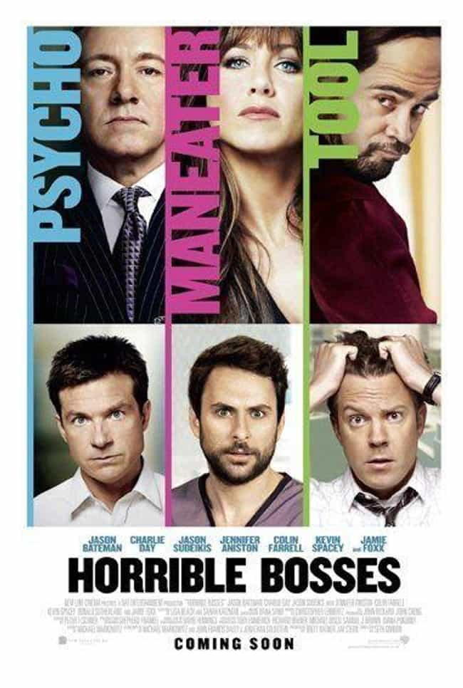 Horrible Bosses is listed (or ranked) 4 on the list What to Watch If You Love Bad Moms