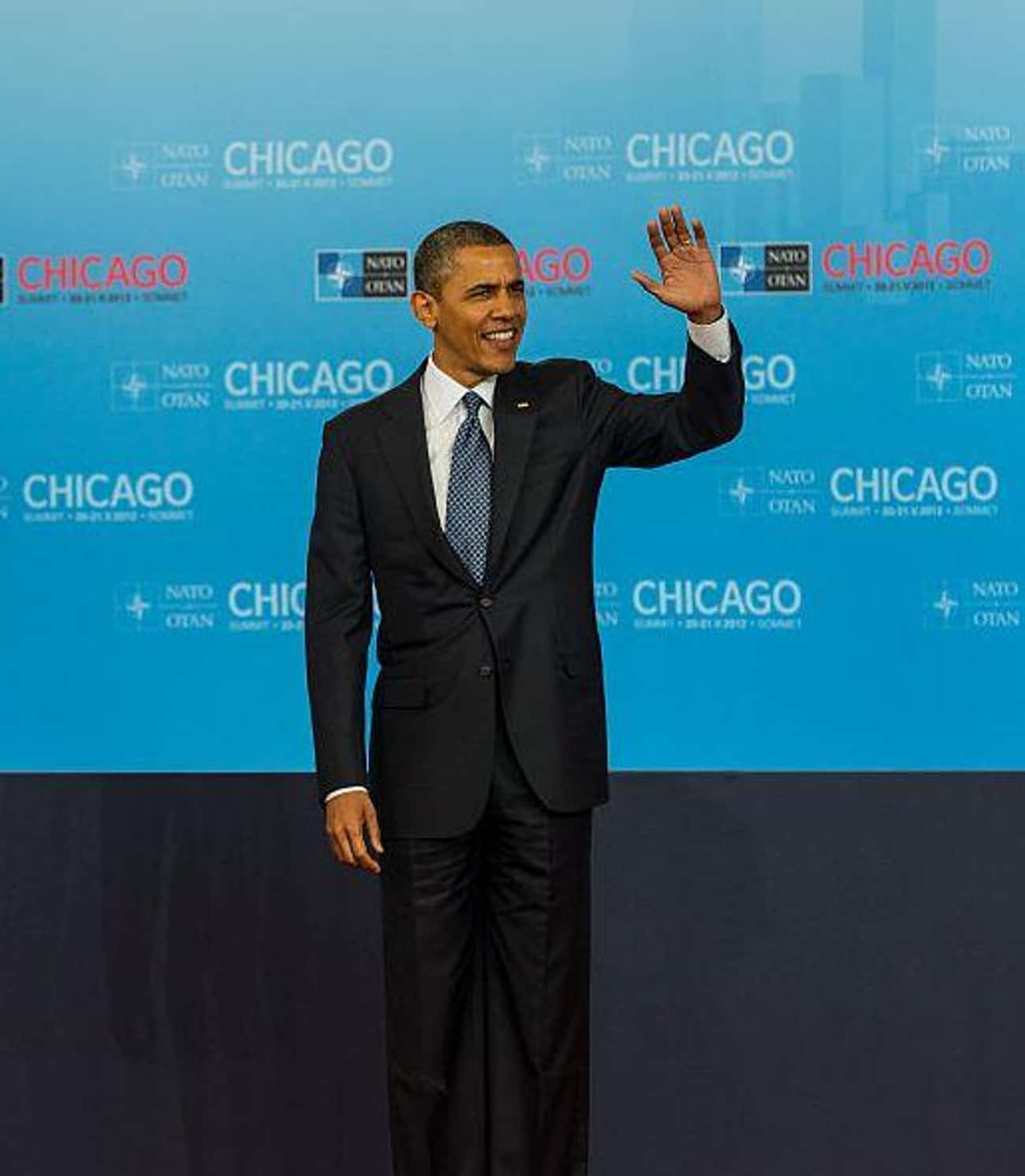 Barack Obama is listed (or ranked) 3 on the list All The Celebrities Who Call Chicago Home