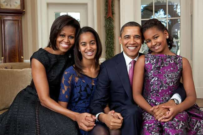 Barack Obama is listed (or ranked) 1 on the list 23 Famous Dads Who Only Have Daughters