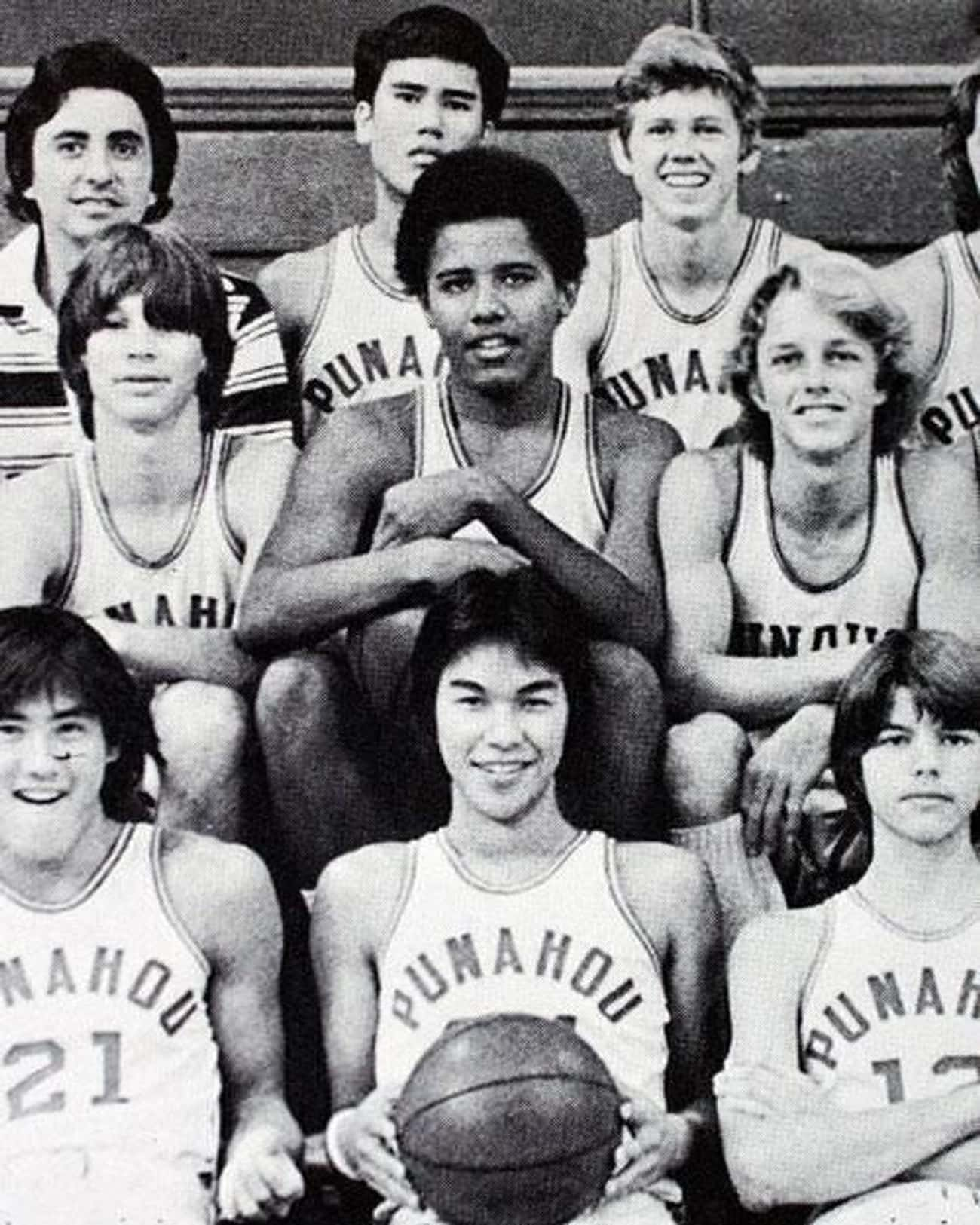 Barack Obama is listed (or ranked) 3 on the list Celebrities Who Played High School Basketball