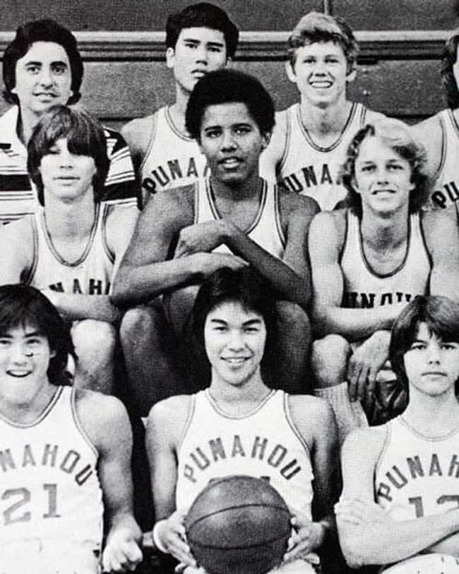 Barack Obama is listed (or ranked) 3 on the list 20 Celebrities Who Played High School Basketball