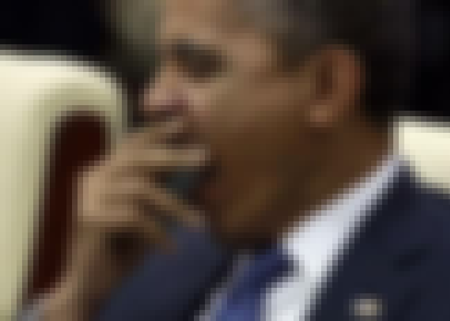 Barack Obama is listed (or ranked) 2 on the list The Sleepiest Pictures of Celebrities Yawning