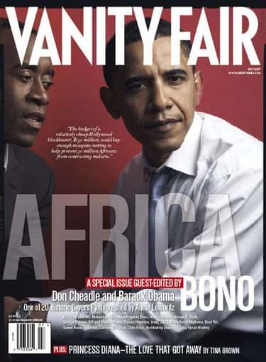 Barack Obama is listed (or ranked) 2 on the list The Best Vanity Fair Covers