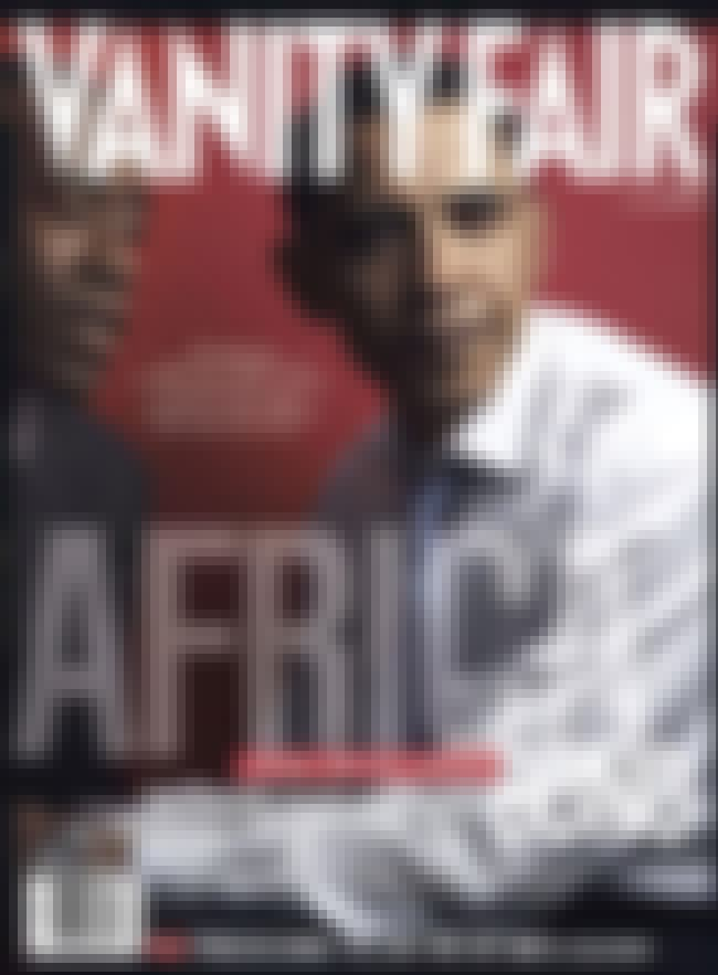 Barack Obama is listed (or ranked) 3 on the list The Best Vanity Fair Covers