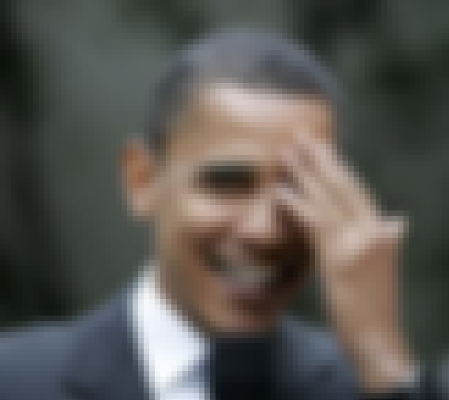 Barack Obama is listed (or ranked) 1 on the list American Politicians (Allegedly) In The Illuminati