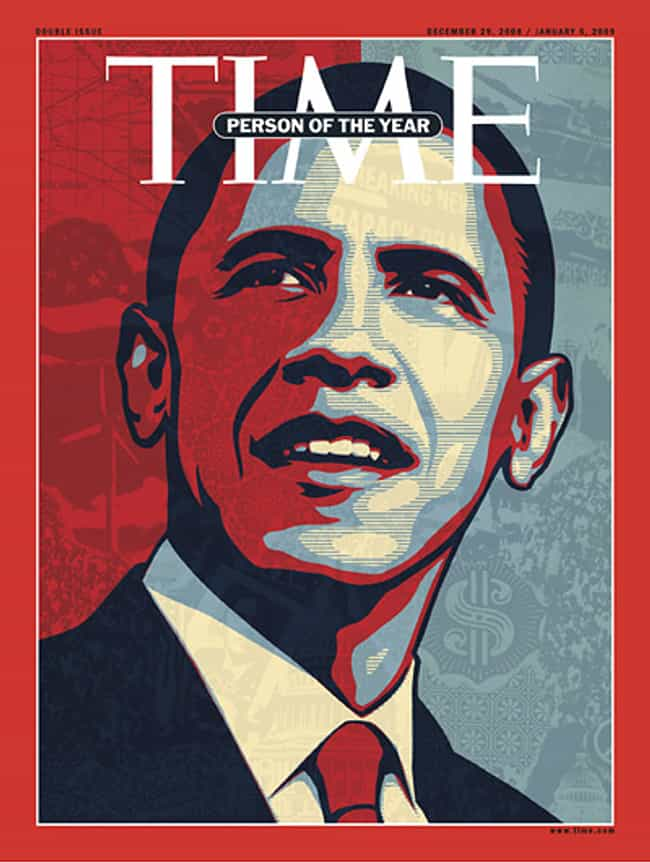 Barack Obama is listed (or ranked) 2 on the list The Most Powerful Time Covers