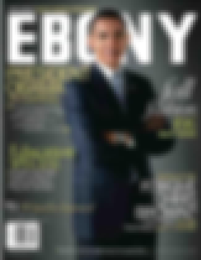 Barack Obama is listed (or ranked) 3 on the list The Best Ebony Covers