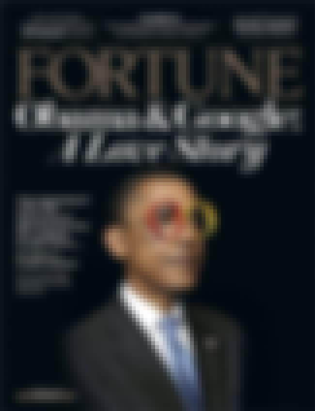 Barack Obama is listed (or ranked) 4 on the list The Best Fortune Covers