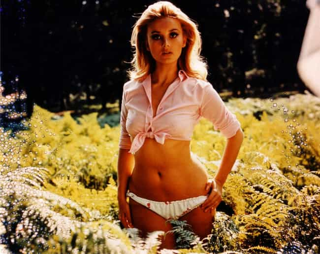 Barbara Bouchet is listed (or ranked) 3 on the list 99 Absurdly Sexy Vintage Pin-Ups
