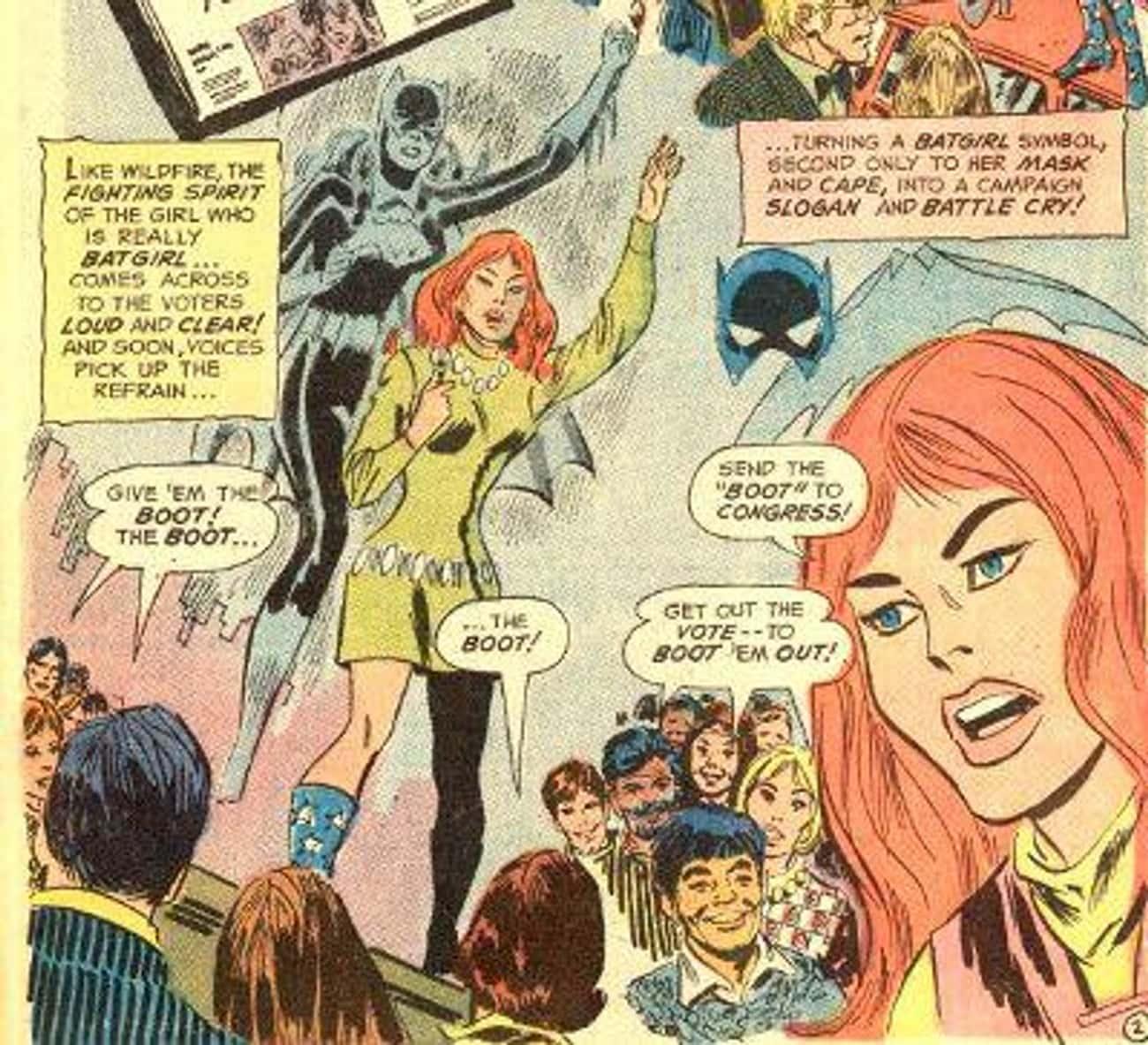 Batgirl: Member Of Congress