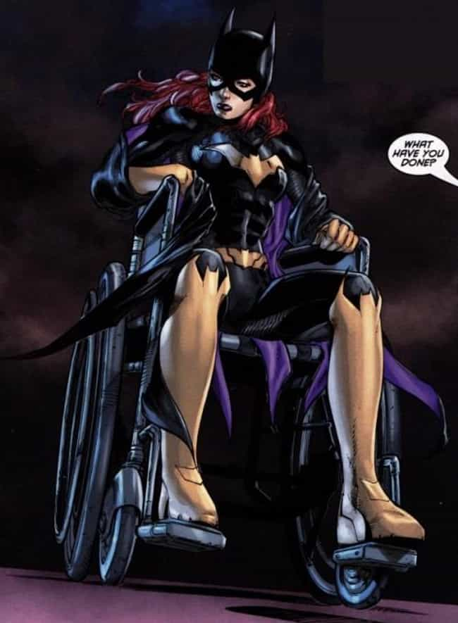 Barbara Gordon is listed (or ranked) 3 on the list 23 Seemingly Disabled Superheroes & Villains