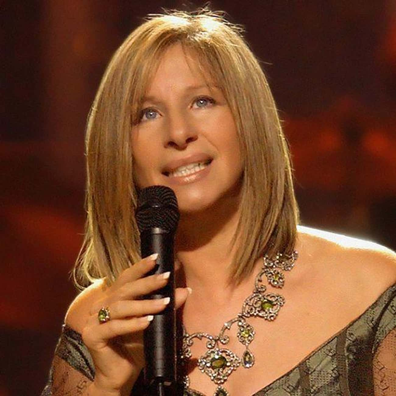 Barbra Streisand is listed (or ranked) 1 on the list Famous People Born in 1942