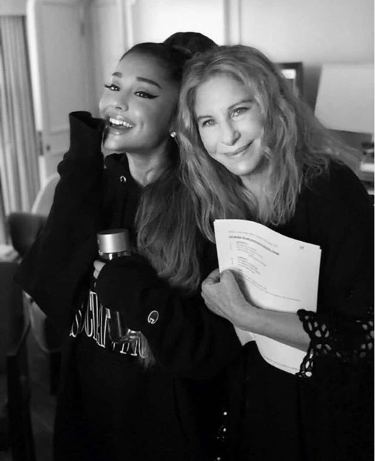 Barbra Streisand is listed (or ranked) 2 on the list The Many Celebrity BFFs Of Ariana Grande