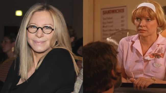 Barbra Streisand is listed (or ranked) 3 on the list Actors Who Turned Down Oscar-Winning Roles
