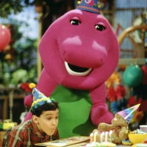 Barney and Friends is listed (or ranked) 4 on the list The Most Annoying Kids Shows of All Time