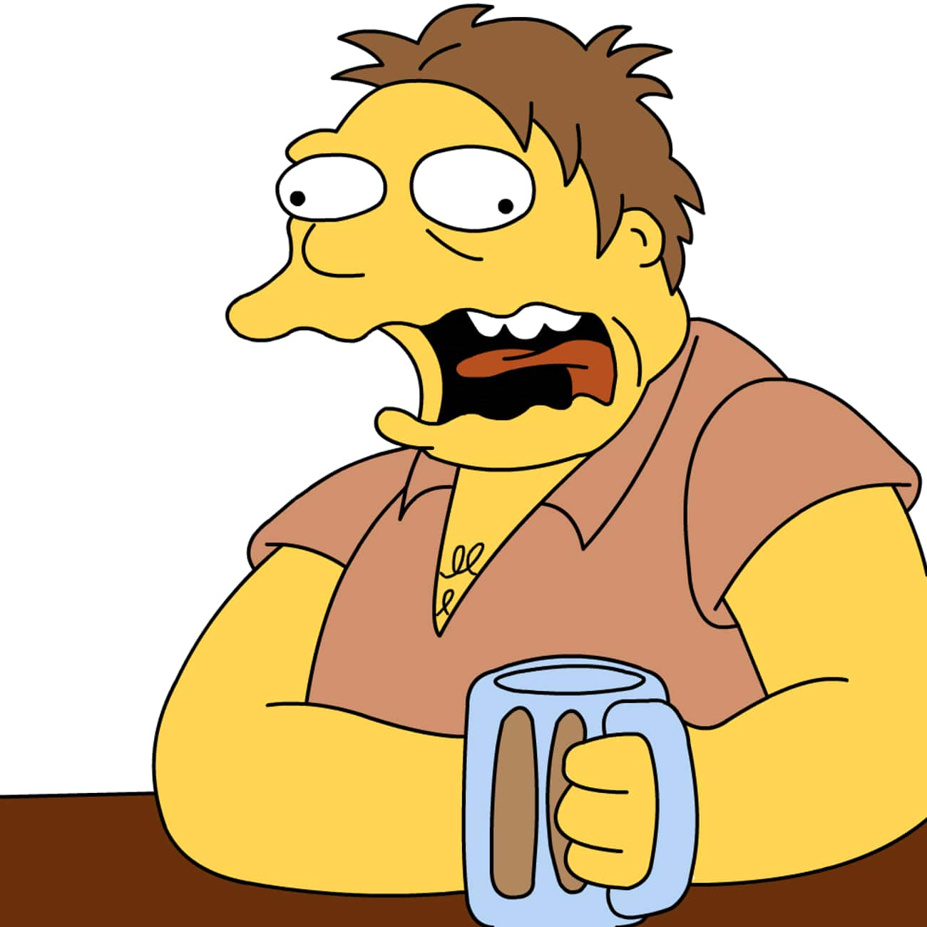 Barney Gumble is listed (or ranked) 4 on the list The Most Lovable TV Alcoholics