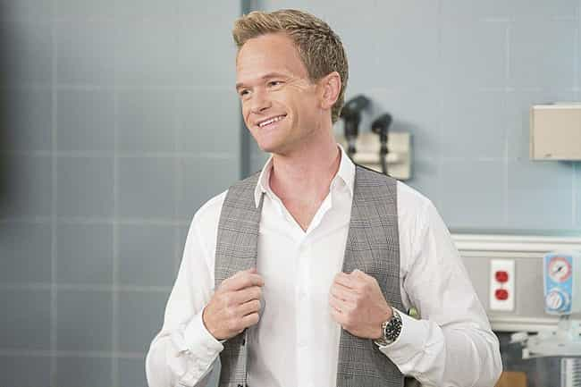 Barney Stinson is listed (or ranked) 3 on the list Straight Characters Played By Gay Actors