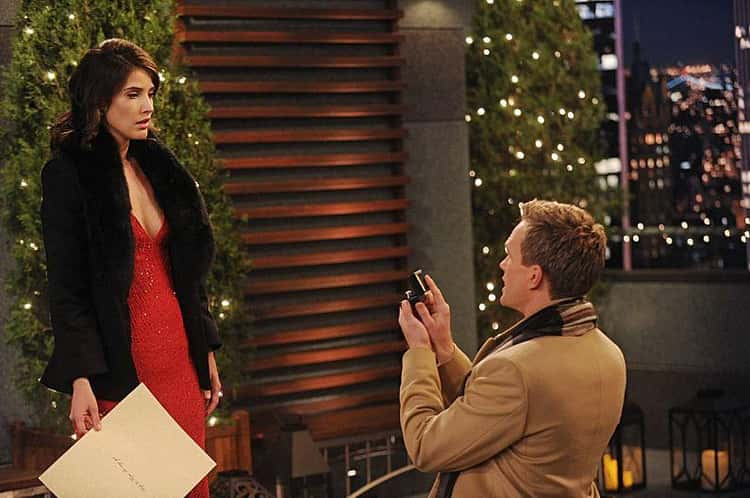 Barney And Robin From How I Met Your Mother