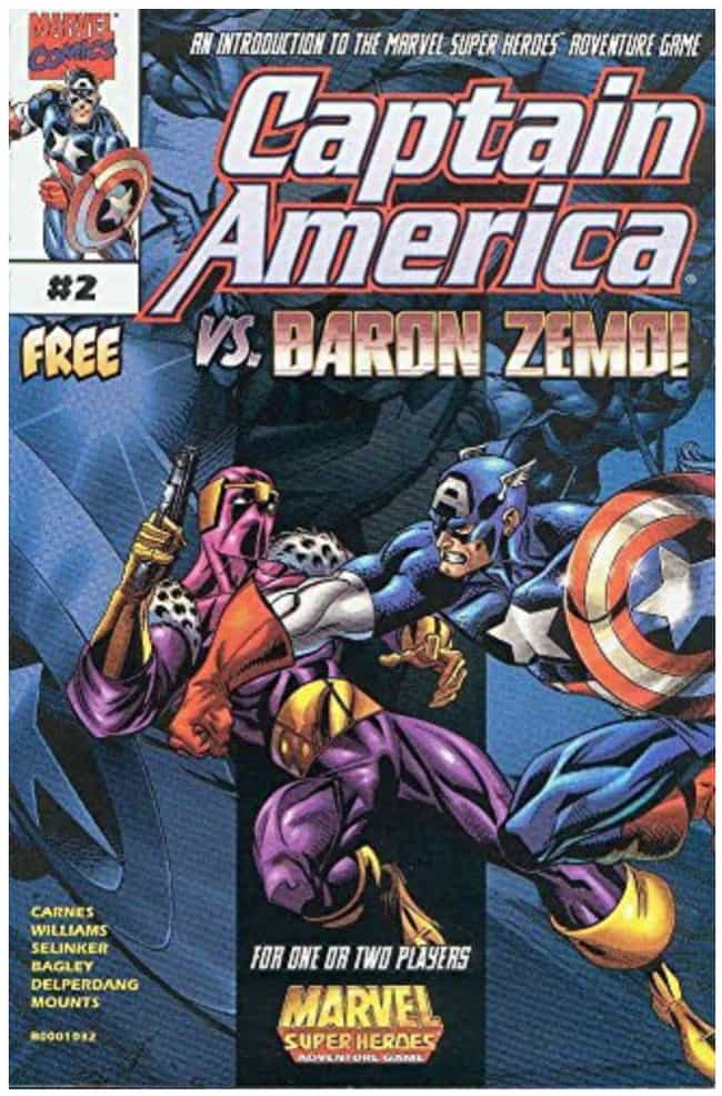Helmut Zemo is listed (or ranked) 3 on the list The Best Hawkeye Villains, Foes and Enemies