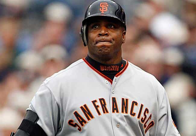 Barry Bonds is listed (or ranked) 4 on the list 102 Athletes Who Failed Drug Tests