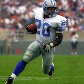 Barry Sanders is listed (or ranked) 20 on the list The Best Football Players Ever