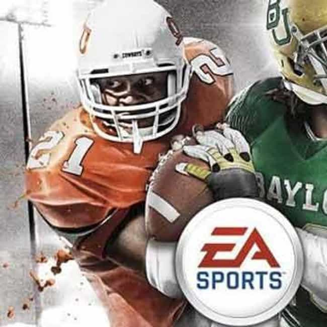 Barry Sanders is listed (or ranked) 3 on the list NCAA Football Cover Athletes