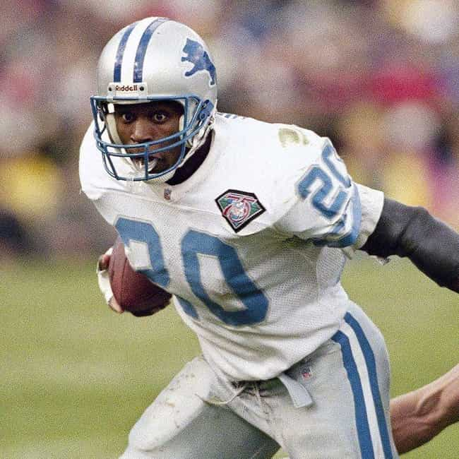 Barry Sanders is listed (or ranked) 2 on the list NFL Players Whose Careers Ended Too Soon