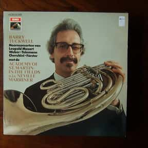 Barry Tuckwell is listed (or ranked) 11 on the list The Best Horn Players in the World