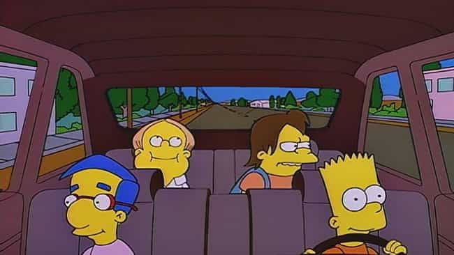 Bart on the Road is listed (or ranked) 1 on the list The Best Milhouse Episodes of 'The Simpsons'