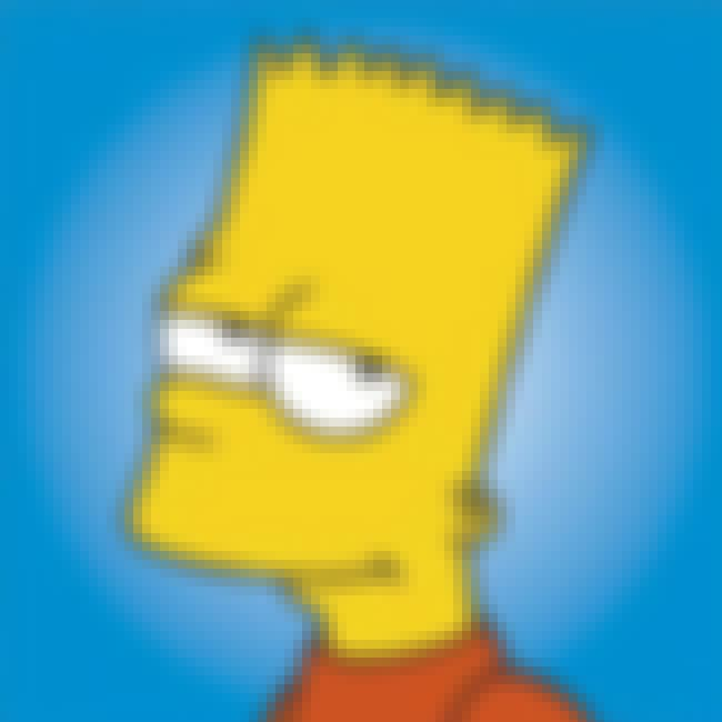 Bart Simpson is listed (or ranked) 2 on the list Popular Male Cartoon Characters Voiced By Women