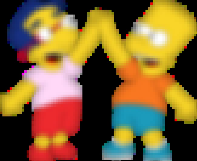 Bart Simpson is listed (or ranked) 3 on the list The Greatest Sets of BFFs in All of '90s TV