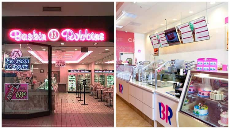 Baskin-Robbins: '90s vs. Present Day